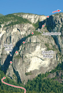Angel's Crest, Squamish Route Photo