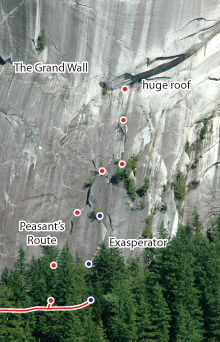 Peasant's Route, Squamish Route Photo