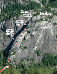 St. Vitus' Dance, Squamish Route Photo