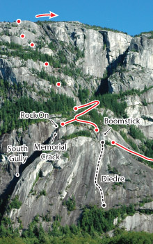 Ultimate Everything, Squamish Route Photo