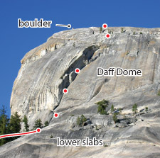 Cresent Arch, Tuolumne Route Photo