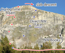 Crying Time Again, Tuolumne Route Photo