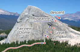 Great Pumpkin, Tuolumne Route Photo