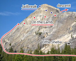 On The Lamb, Tuolumne Route Photo