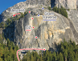 OZ, Tuolumne Route Photo