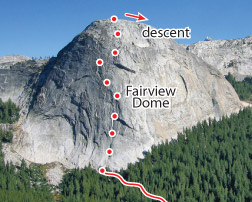 Regular Route, Tuolumne Route Photo