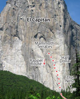 Freeblast, Yosemite Route Photo